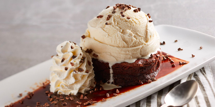 Belgian Chocolate Souffle from California Pizza Kitchen at Claymore Connect in Orchard, Singapore