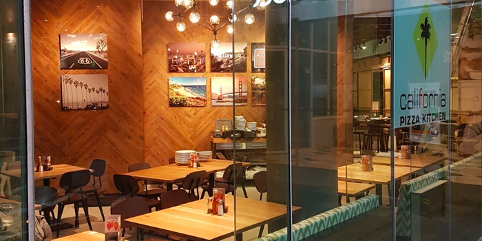 Exterior of California Pizza Kitchen at Claymore Connect in Orchard, Singapore