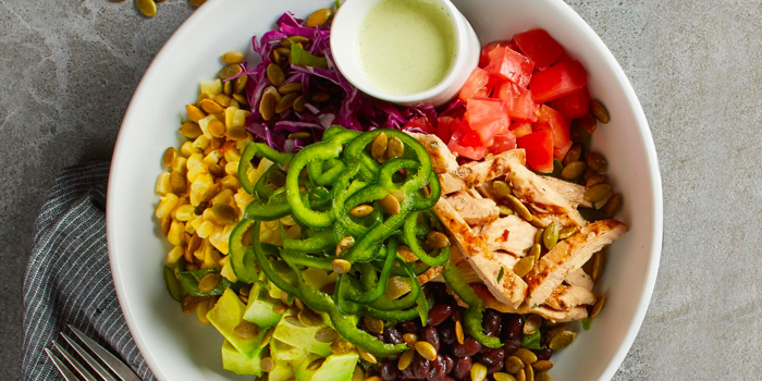 Sante Fe Power Bowl from California Pizza Kitchen at Claymore Connect in Orchard, Singapore