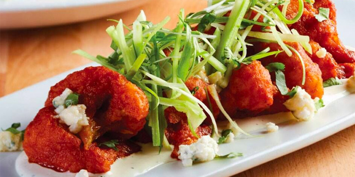 Spicy Buffalo Cauliflower from California Pizza Kitchen at Claymore Connect in Orchard, Singapore
