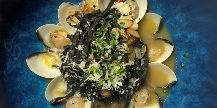 Squid Ink Vongole from Casa MANINI in Serangoon, Singapore