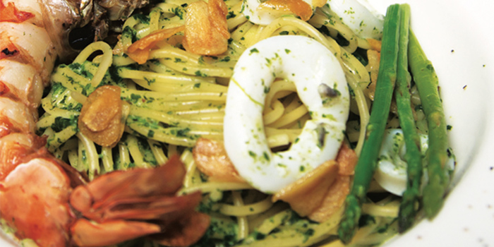 Seafood Pesto Pasta from Chapter 55 in Tiong Bahru, Singapore