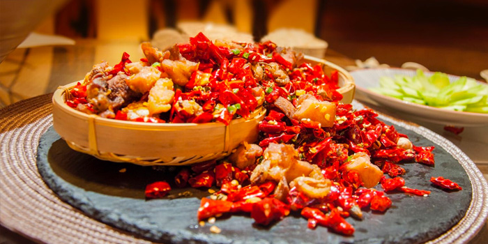 Spicy Chili Chicken from Chengdu 成都 in Telor Ayer, Singapore