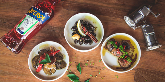 Aperitivo Tapas from Claypots Full Circle in Chinatown, Singapore
