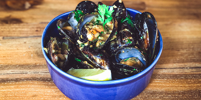 Port Arlington Mussels from Claypots Full Circle in Chinatown, Singapore