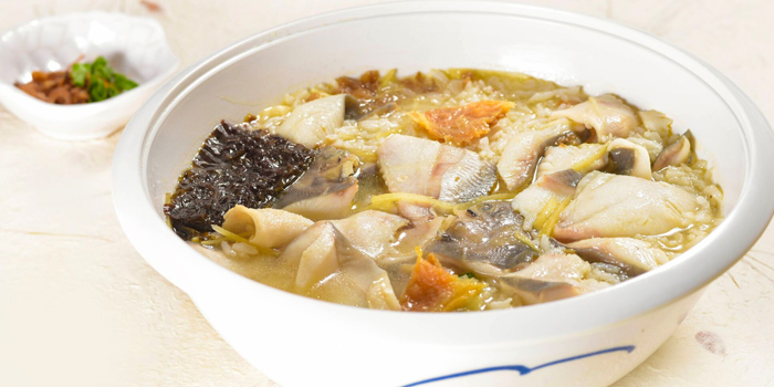 Pomfret Porridge from Di Wei Teochew Restaurant in Seletar, Singapore