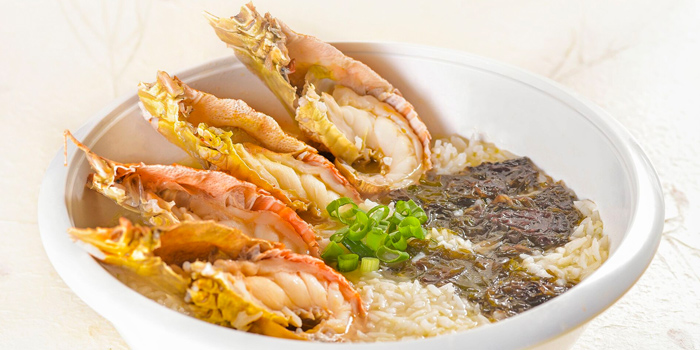 Crayfish Porridge from Di Wei Teochew Restaurant in Seletar, Singapore