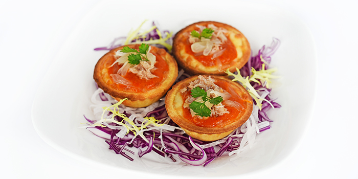 Chilli Crab Cheese Tarts from Full of Luck Restaurant in Holland Village, Singapore
