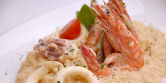 Seafood Cream Risotto from Ice Edge Cafe (Kovan) in Hougang, Singapore