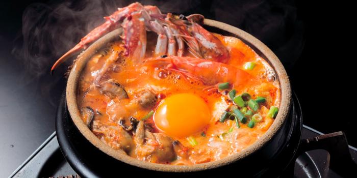 Seafood Sundubu from Japan Gourmet Hall SORA (Changi Airport T2) at Singapore Changi Airport in Changi, Singapore