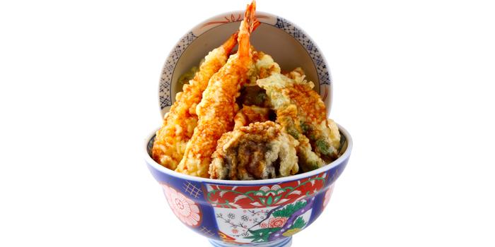 Kohaku Tendon from Japan Gourmet Hall SORA (Changi Airport T2) at Singapore Changi Airport in Changi, Singapore