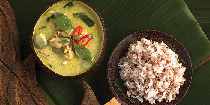 Green Curry from Jim Thompson in Dempsey, Singapore