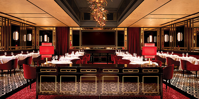 Main Dining Hall of Madame Fan at JW Marriott Singapore South Beach in Bugis, Singapore