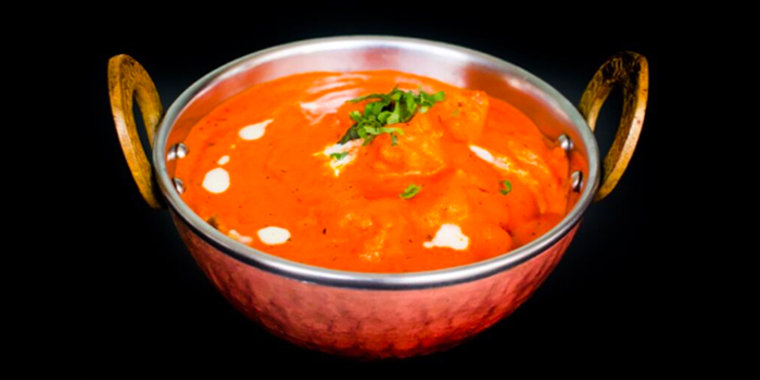 Butter Chicken from Maharajah in Boat Quay, Singapore