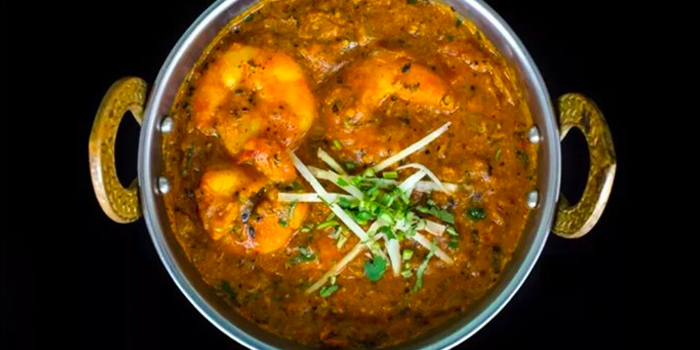 Pepper Prawn from Maharajah in Boat Quay, Singapore