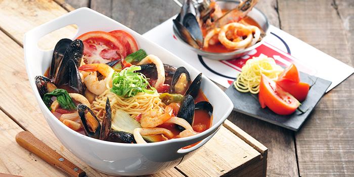 Honghae Pasta from Pizza Maru (Bugis+) at Bugis+ in Bugis, Singapore