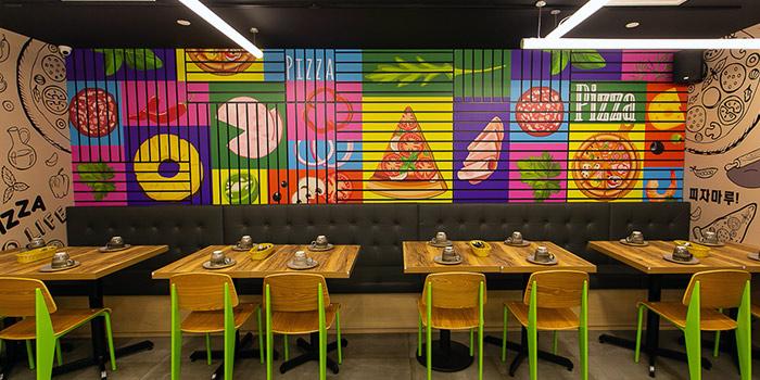 Interior of Pizza Maru (Bugis+) at Bugis+ in Bugis, Singapore