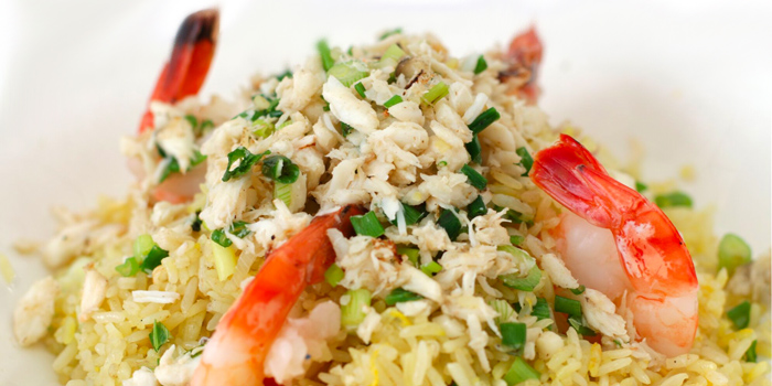 Fried Rice from Quayside Seafood Restaurant in Clarke Quay, Singapore
