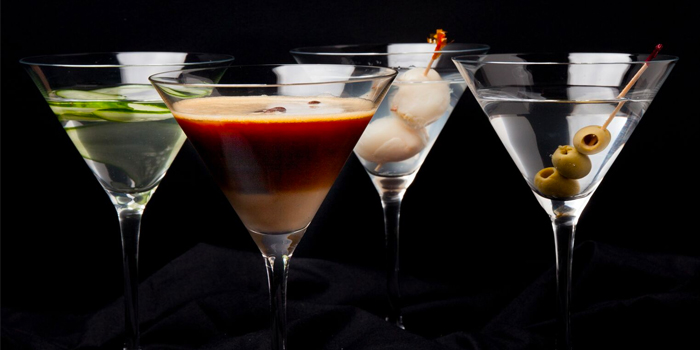 Assorted Martinis from Roo
