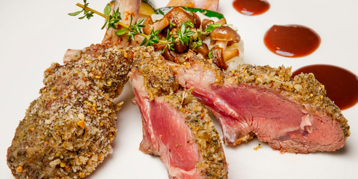 Herb Crusted Lamb Rack from Roo