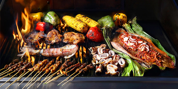 Live Asian BBQ from Royale at Mercure Singapore Bugis in Bugis, Singapore