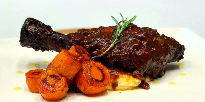 Braised Lamb Shank from Vibes Cafe (Mediacorp Campus) in Buona Vista, Singapore