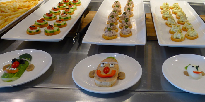 Canapes from Vibes Cafe (Mediacorp Campus) in Buona Vista, Singapore