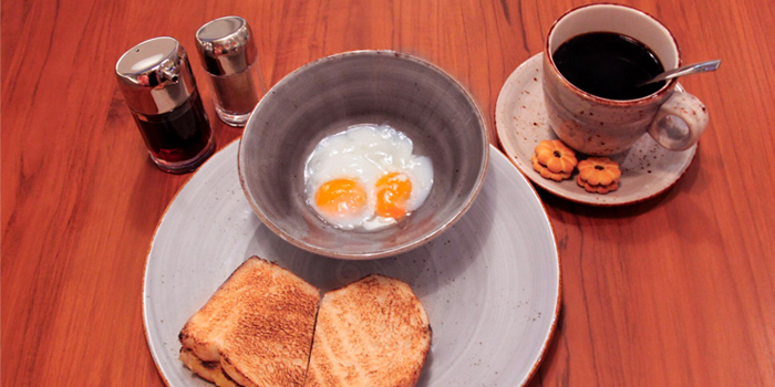 Toast Set from Vibes Cafe (Wheelock Place) in Orchard, Singapore