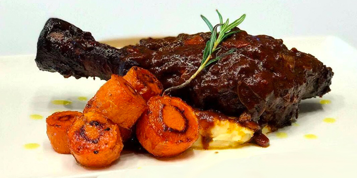 Braisd Lamb Shank from Vibes Cafe (Wheelock Place) in Orchard, Singapore