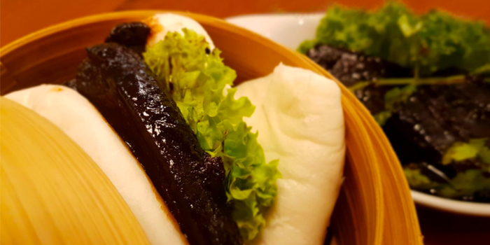 Braised Pork Buns from Vibes Cafe (Wheelock Place) in Orchard, Singapore