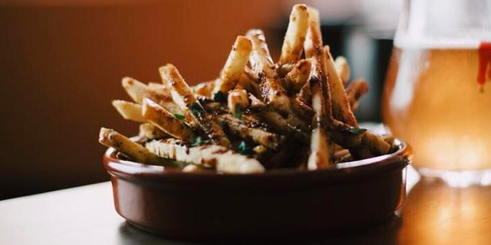 Salt & Vinegars Fries from The Guild in Keong Saik, Singapore