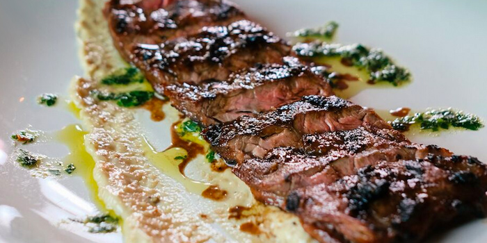 Steak from The Guild in Keong Saik, Singapore