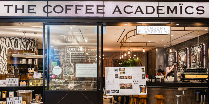 Exterior of The Coffee Academics (Scotts Square) at Scotts Square in Orchard, Singapore