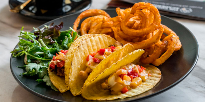 Crispy Fish Fillet Tacos from The Coffee Academics (Scotts Square) at Scotts Square in Orchard, Singapore