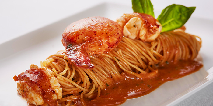 Angel Hair Pasta with Maine Lobster from The Lighthouse in Fullerton, Singapore