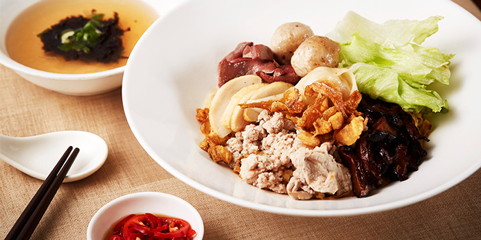 Bak Chor Mee from Town at The Fullerton Hotel Singapore in Raffles Place, Singapore