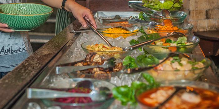 Salad Bar at TAKSU, Ubud