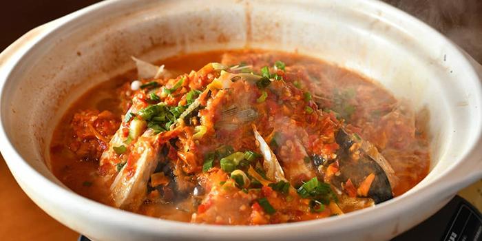 Signature double chili fishhead, Hunan Bistro, Causeway Bay, Hong Kong