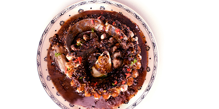 Steamed Eel with Black Bean Sauce, Dragon Gate Beijing Private Kitchen, Causeway Bay, Hong Kong