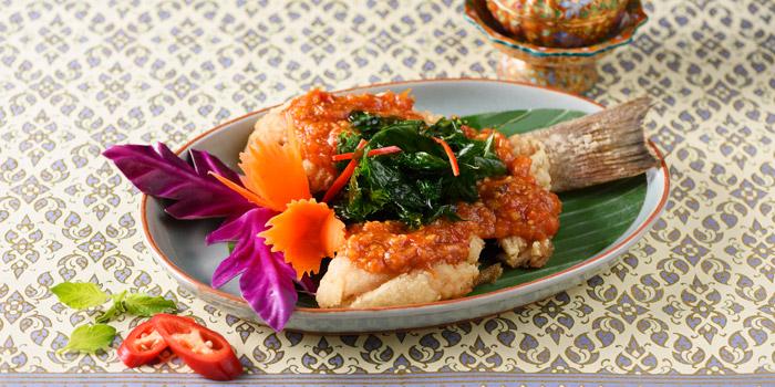 Sweet & Sour Sea Bass from Baan Kanitha Thai Cuisine at Sukhumvit 23 Sukhumvit Road, Klongtoey-Nua Wattana, Bangkok