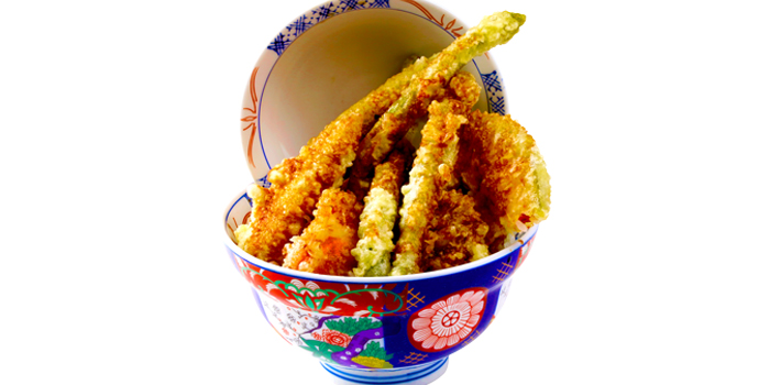 Vegetable Tendon from Japan Gourmet Hall SORA (Changi Airport T2) at Singapore Changi Airport in Changi, Singapore