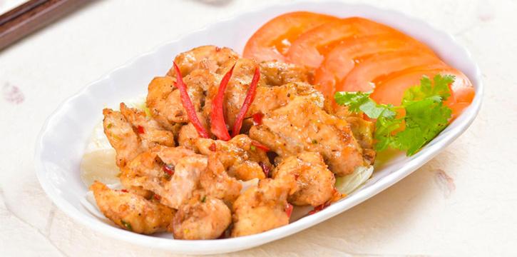 Sichuan Pepper Chicken from Di Wei Teochew Restaurant in Seletar, Singapore