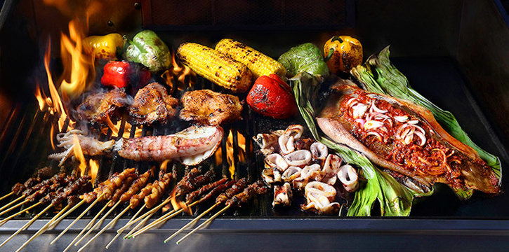Live Asian BBQ from Royale at Mercure Singapore Bugis in Bugis, Singapore