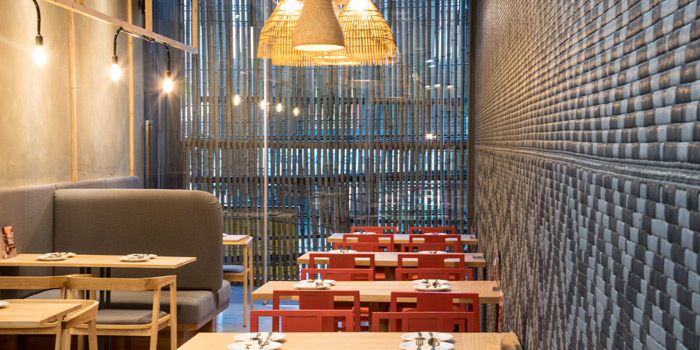 The Dining Area from Somtum Der at Soi Sukhumvit 55 Khlongton Nua, Watthana Bangkok