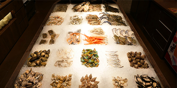 Seafood Selection from Thai Tanic Hotpot in Outram, Singapore