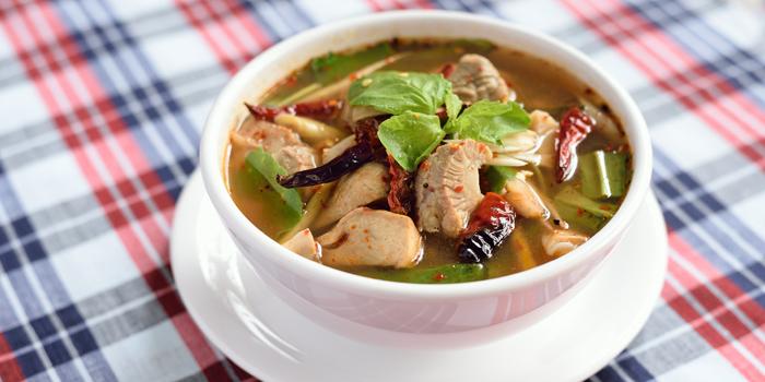 Spicy & Sour Soup from Somtum Der at Soi Sukhumvit 55 Khlongton Nua, Watthana Bangkok