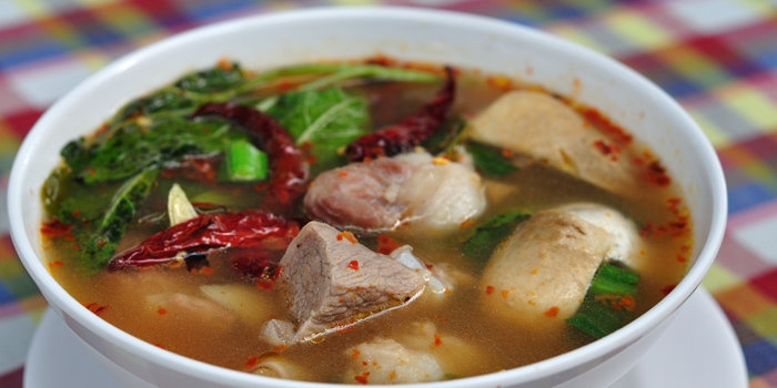 Spicy & Sour Soup from Somtum Der at 5/5 Saladaeng Rd Silom, Bang Rak Bangkok