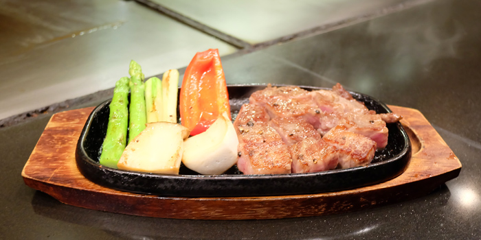 Beef Teppanyaki from Serina Japanese Teppanyaki at 9/26 Soi Jim Thompson Surawong, Bangrak Bangkok