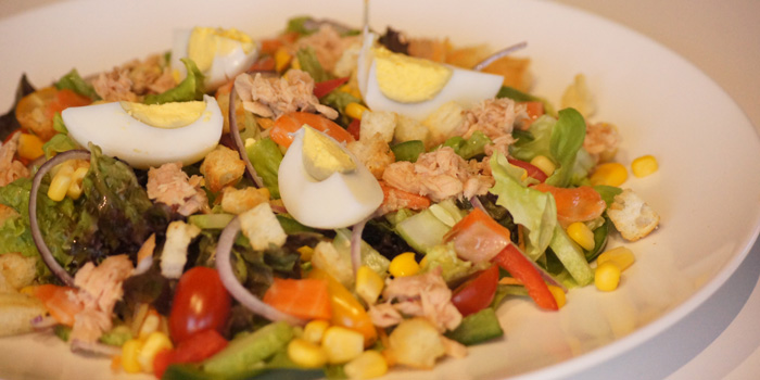 California Salmon & Tuna Salad at SoulSpin, Jakarta