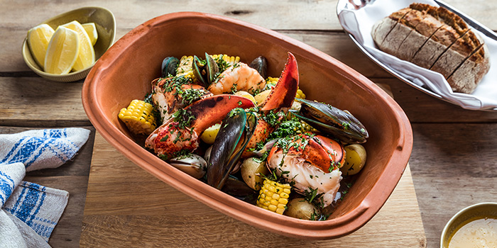 Clam & Lobster Bake from mezza9 in Grand Hyatt Singapore in Orchard, Singapore